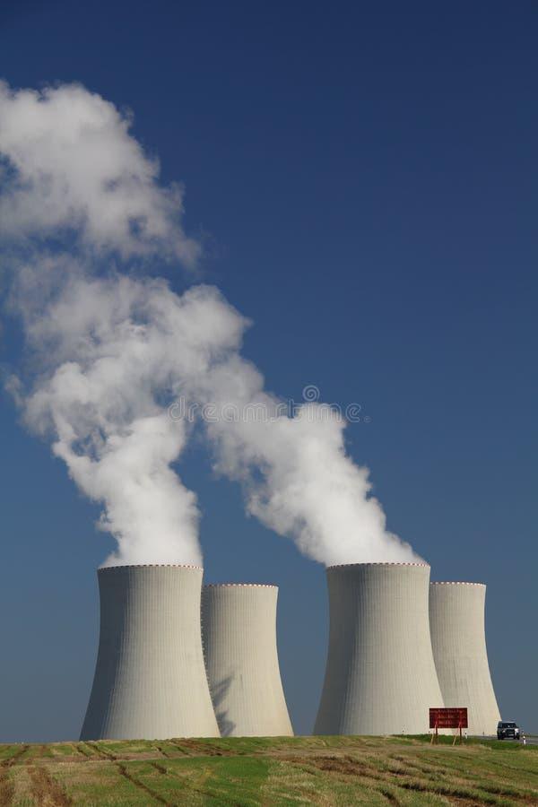 Atomkraftwerk Temelin in der Tschechischen Republik stockbild