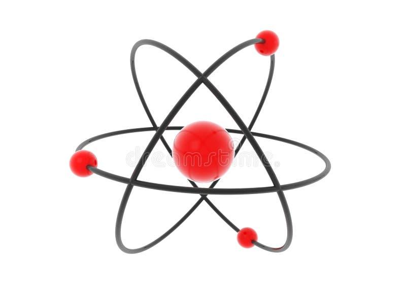 atommodell vektor illustrationer