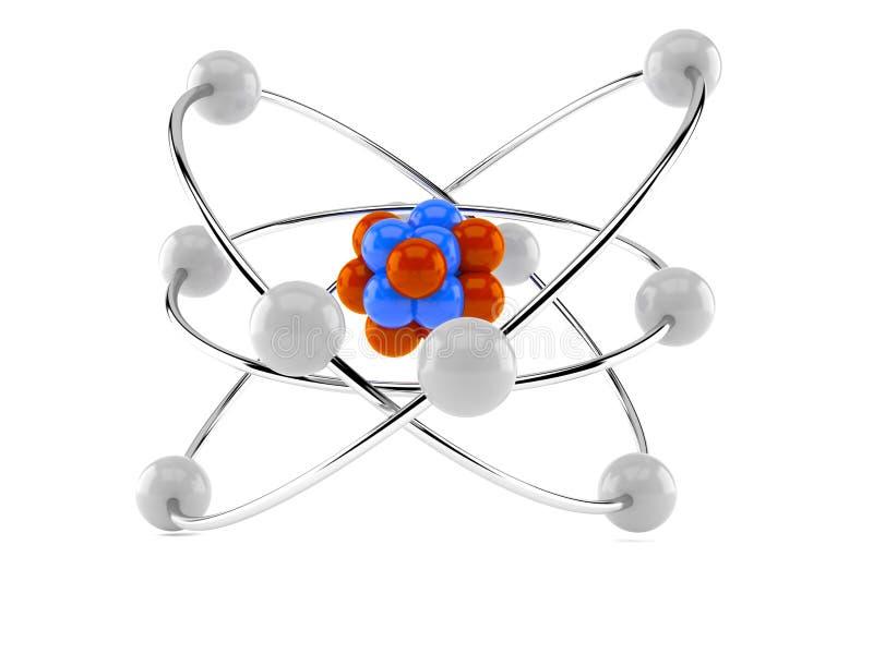 Atommodell royaltyfri fotografi