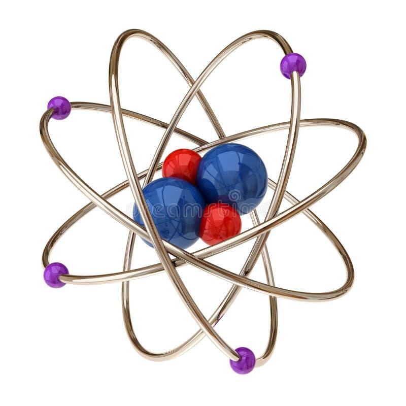 Atomo illustrazione di stock