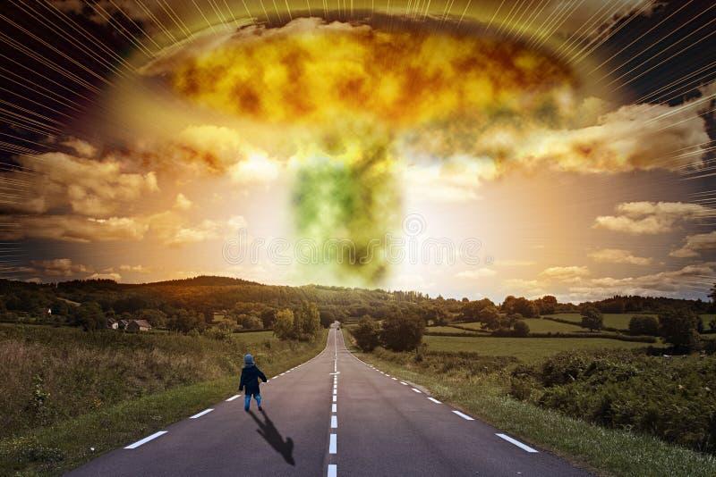 Download Atomowa bomba zdjęcie stock. Obraz złożonej z śledzony - 12592928