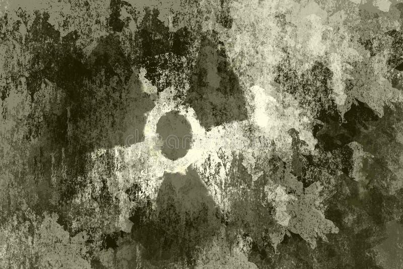 atomowy symbol ilustracja wektor