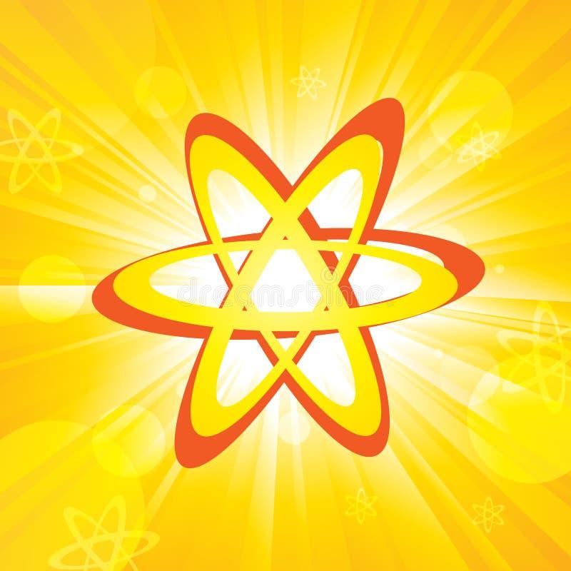 Atoms vektor illustrationer