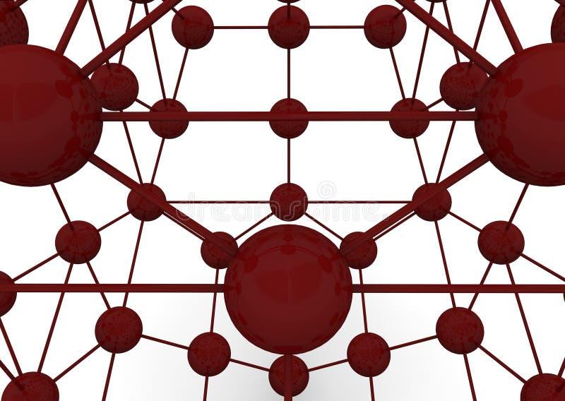 atoms 3d vektor illustrationer