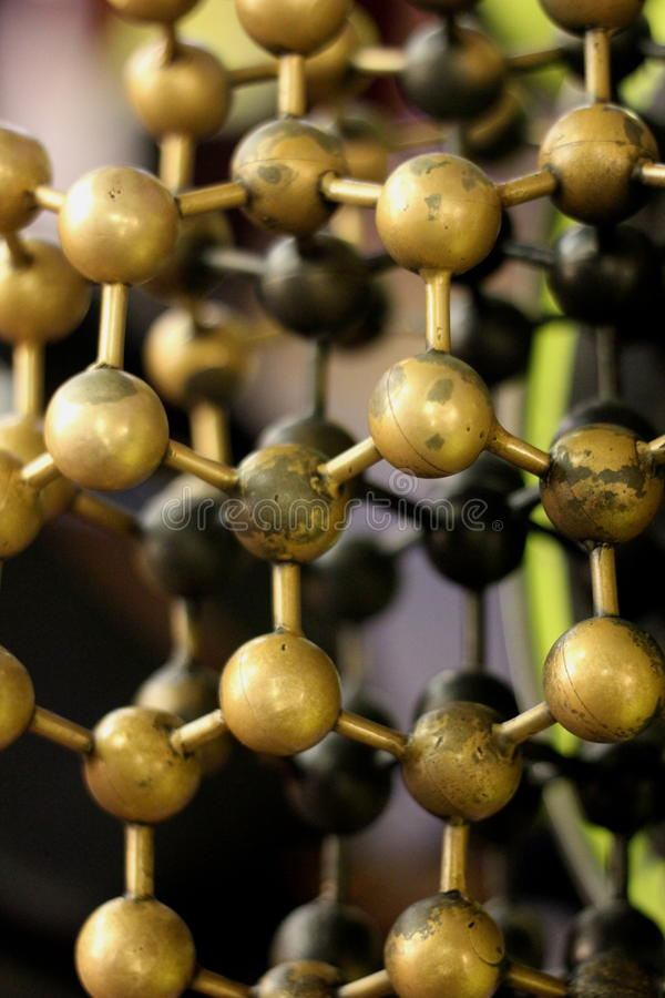 Atoms royalty free stock images