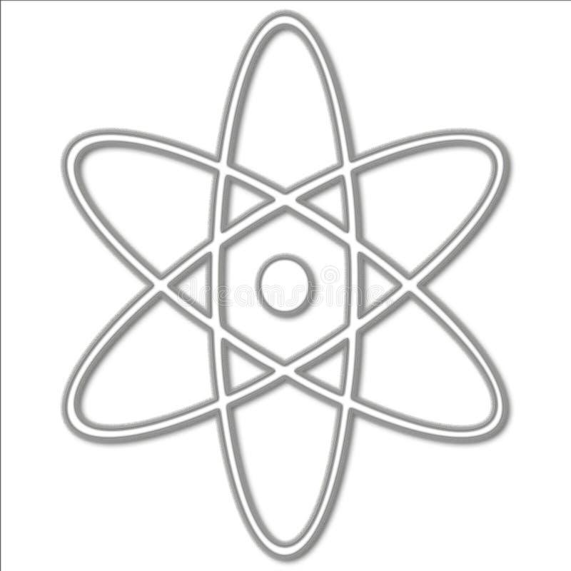 Atomsymbol stock abbildung