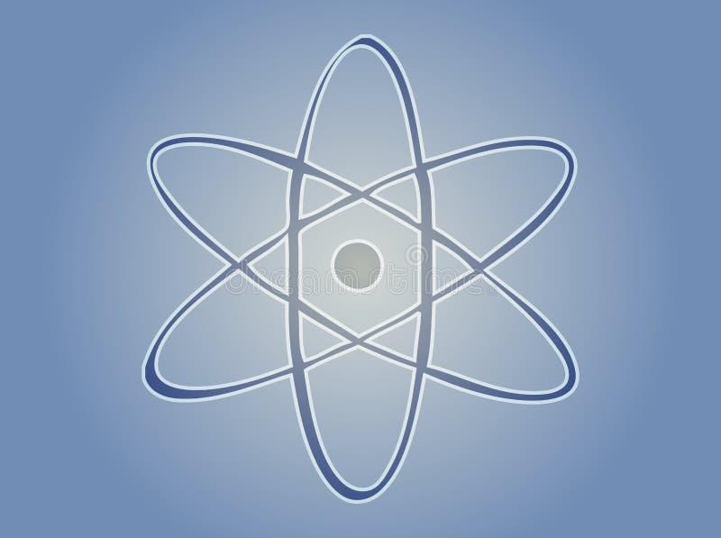 Atomsymbol vektor abbildung