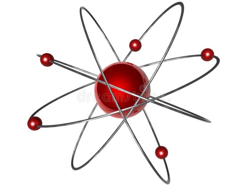 Atomsymbol lizenzfreie abbildung