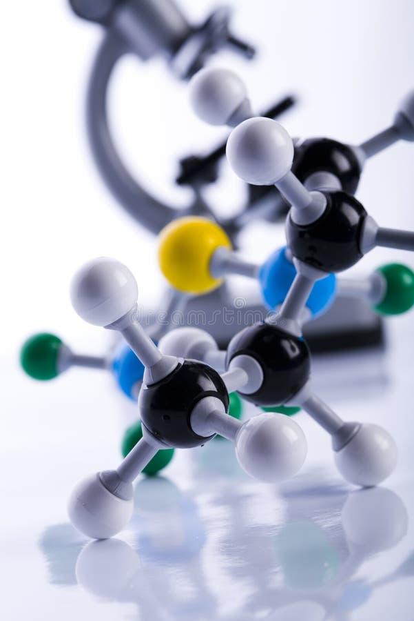 atomu mikroskop zdjęcia royalty free
