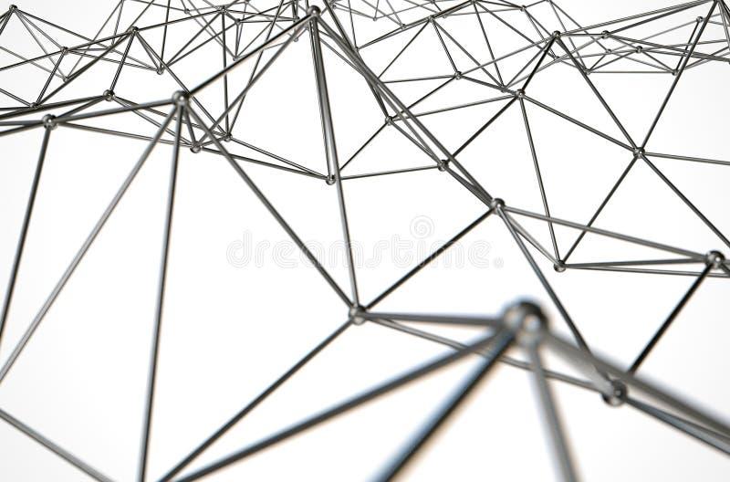 Atomu szyka abstrakt zdjęcia stock