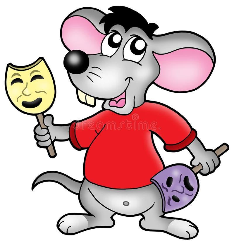 Ator do rato dos desenhos animados