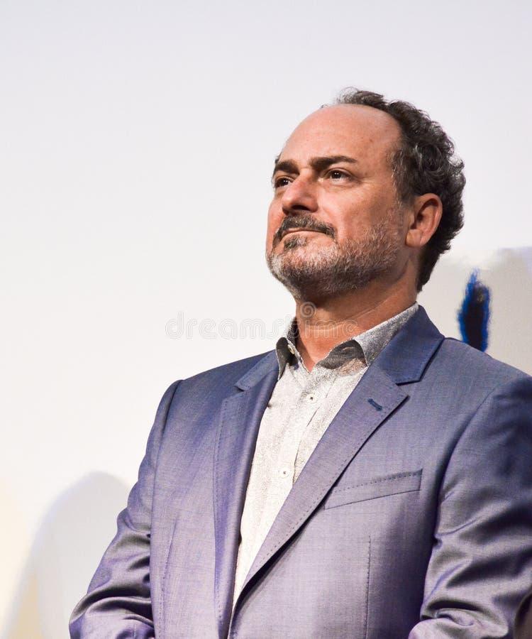 Ator Kevin Pollak na conferência de imprensa do ` de Christs do ` três em TIFF17 fotografia de stock royalty free