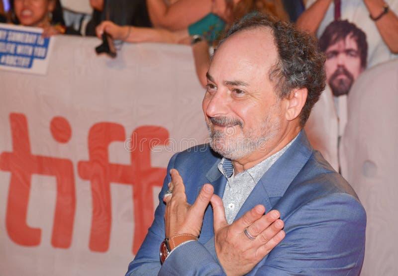 ator Kevin Pollak na premier do ` de Christs do ` três em TIFF17 foto de stock royalty free