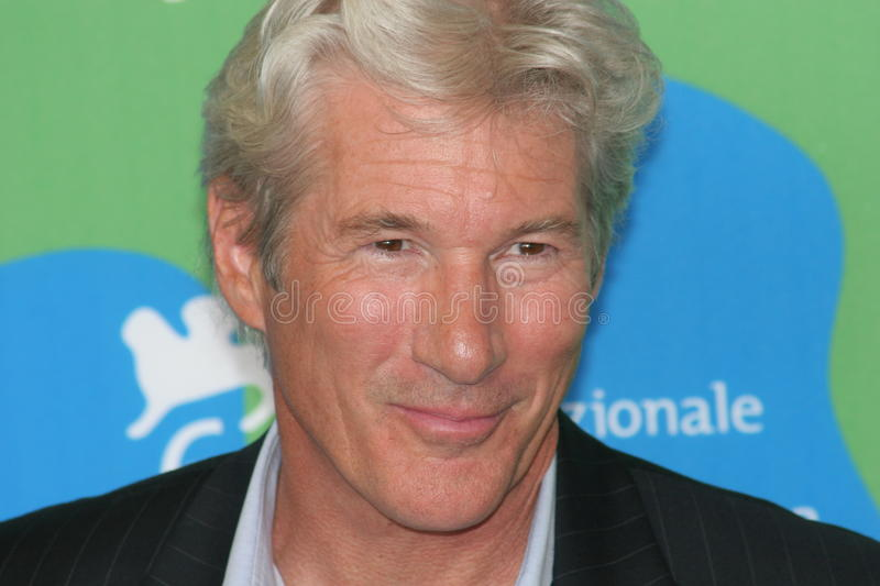 Ator Richard Gere foto de stock