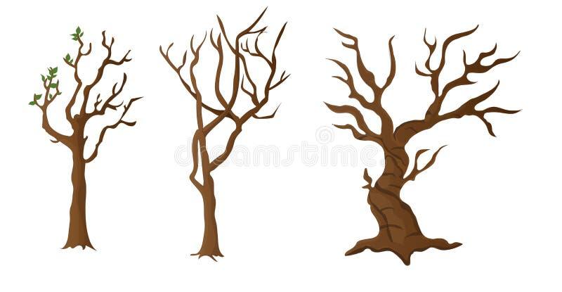 Atout/tronc d'arbre images libres de droits