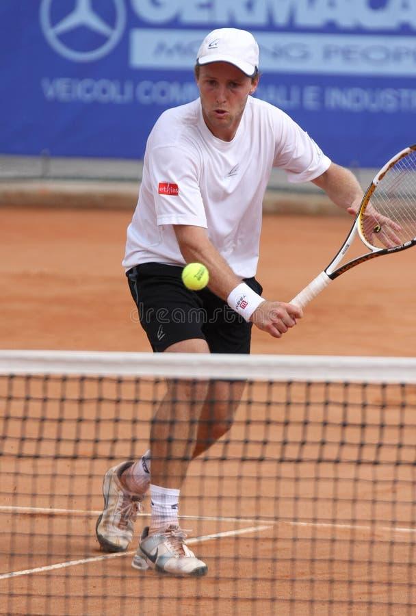 atp Christophe gracza rochus tenis obrazy stock