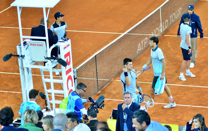 ATP Mutua Otwarty Madryt zdjęcie royalty free