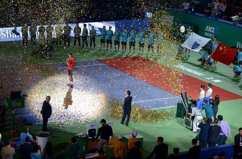 2015 ATP van Shanghai beheerst 1000 royalty-vrije stock foto's