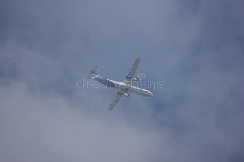 ATR72-500 van Lao Airlines stock fotografie