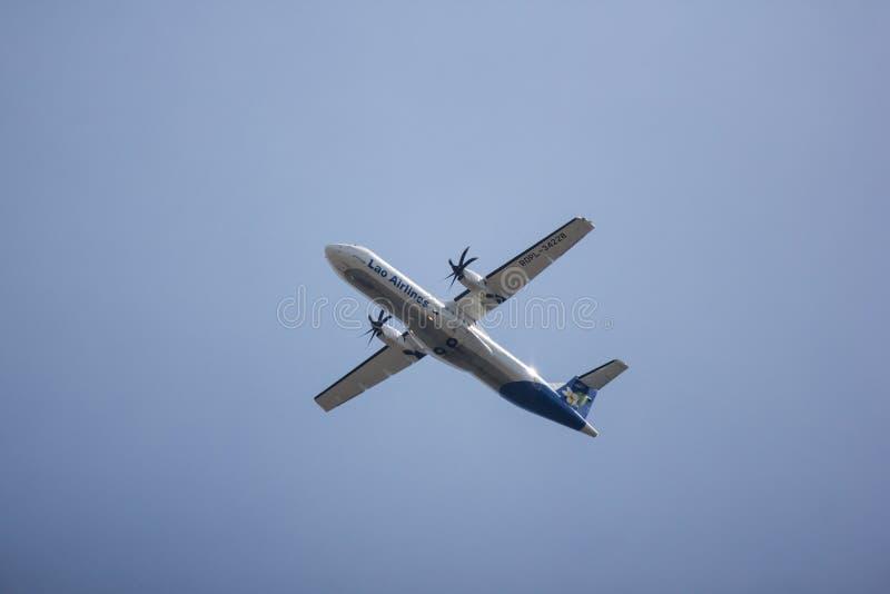 ATR72-600 van Lao Airlines stock fotografie