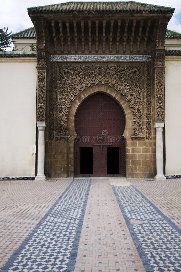 Atração de Meknes imagens de stock