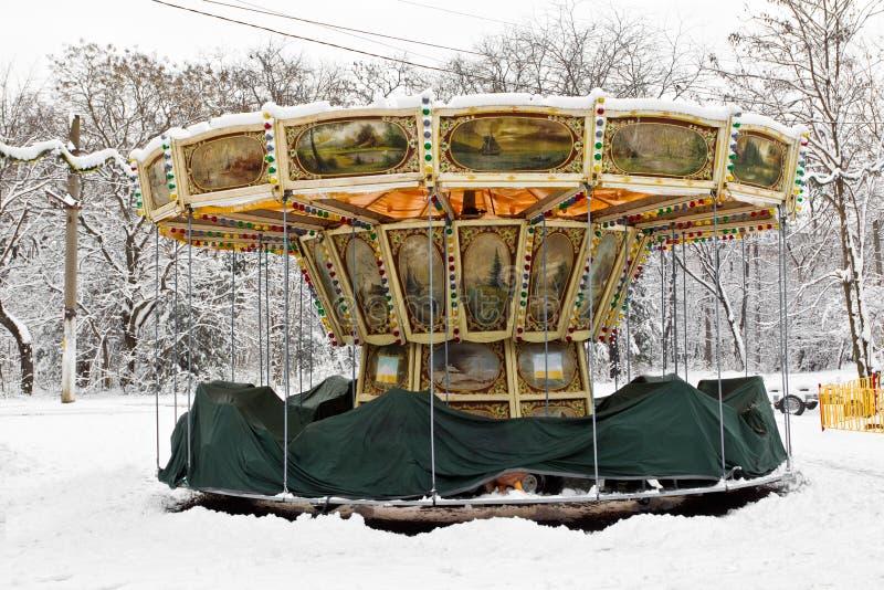 Atracción del carnaval fotografía de archivo libre de regalías