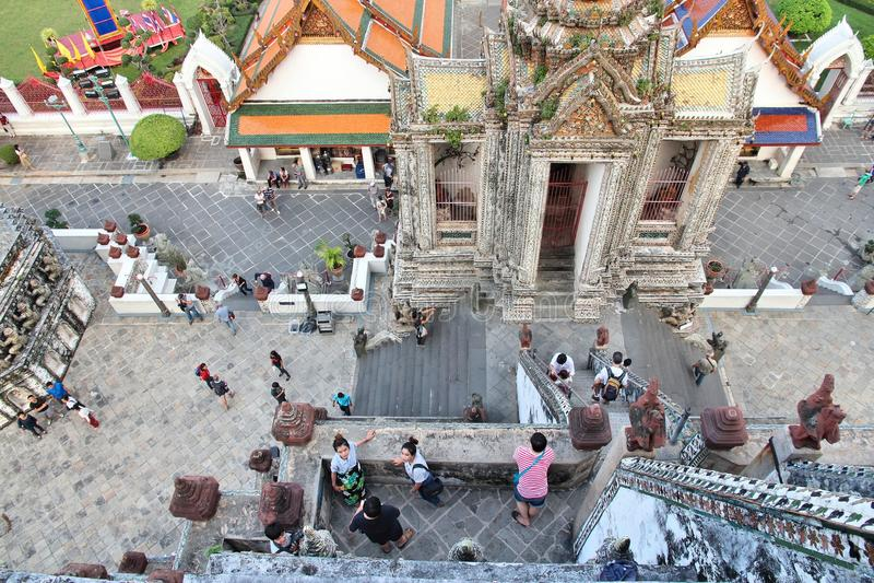 Atracción del turismo de Tailandia fotos de archivo