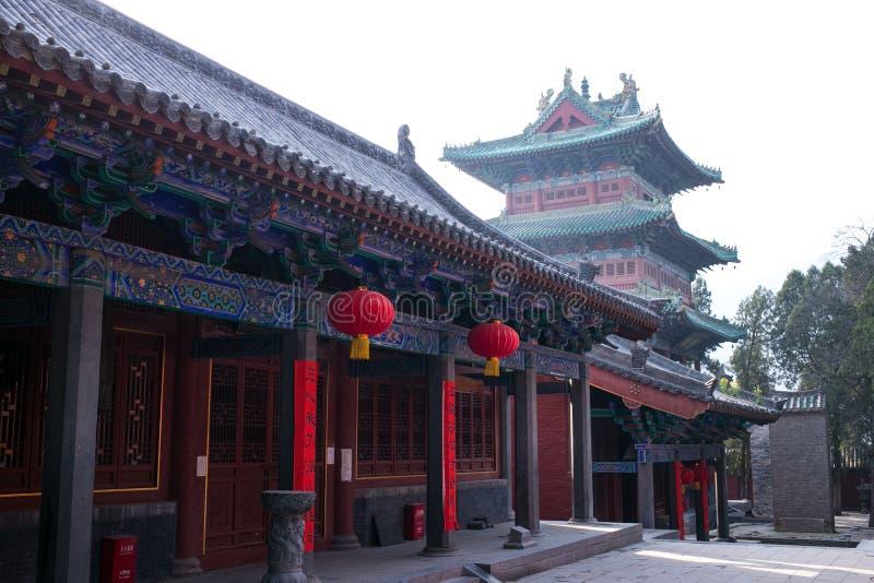 Atracción turística famosa del ` s de Henan, China, Shaolin Temple, Songshan imagen de archivo