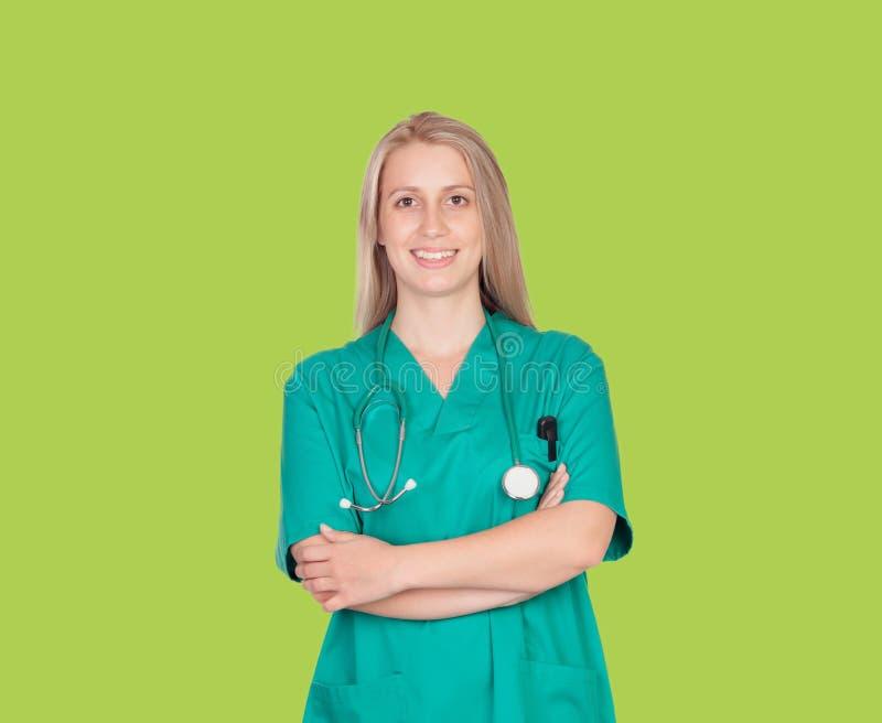 Atractive medyczna dziewczyna zdjęcie royalty free