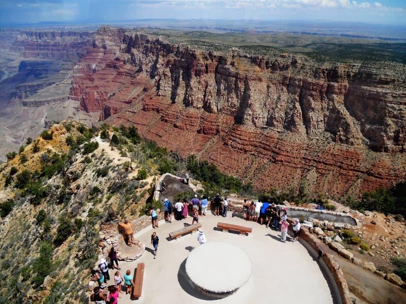 Atrakcja turystyczna w Grand Canyon parku narodowym, usa zdjęcia royalty free
