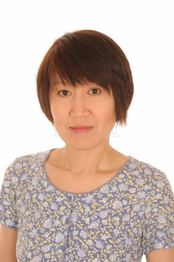 Atrakcyjna Azjatycka kobieta fotografia royalty free
