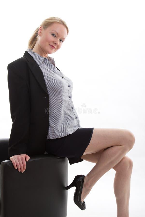Atrakcyjna biznesowa kobieta obraz stock