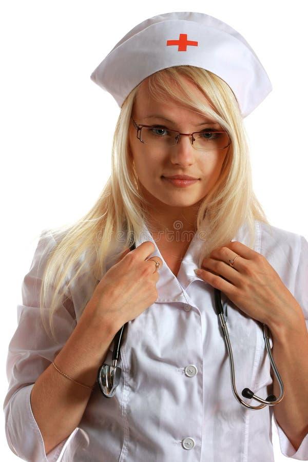 atrakcyjna doktorska dama fotografia stock