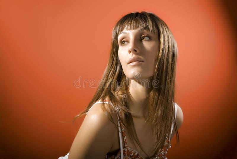 atrakcyjna dziewczyna obraz stock