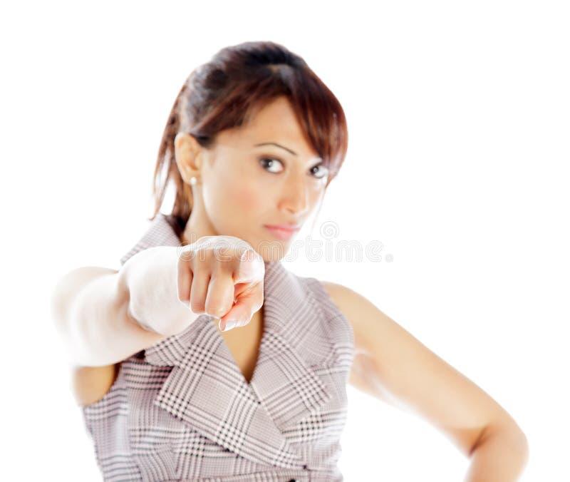 Download Atrakcyjna Indiańska Kobieta Odizolowywająca Na Białym Tle Obraz Stock - Obraz złożonej z femaleness, azjata: 41952541