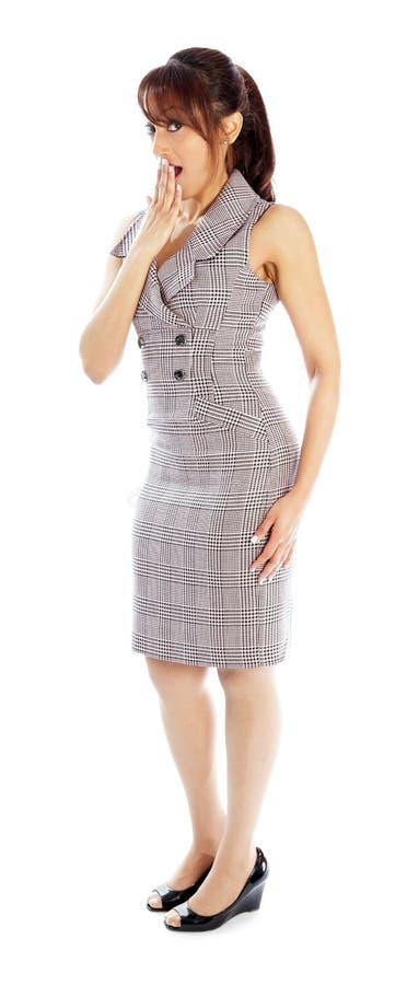 Download Atrakcyjna Indiańska Kobieta Odizolowywająca Na Białym Tle Obraz Stock - Obraz złożonej z atrakcyjny, przestrzeń: 41952625