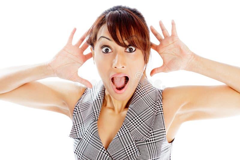 Download Atrakcyjna Indiańska Kobieta Odizolowywająca Na Białym Tle Zdjęcie Stock - Obraz złożonej z osoba, ludzie: 41952676