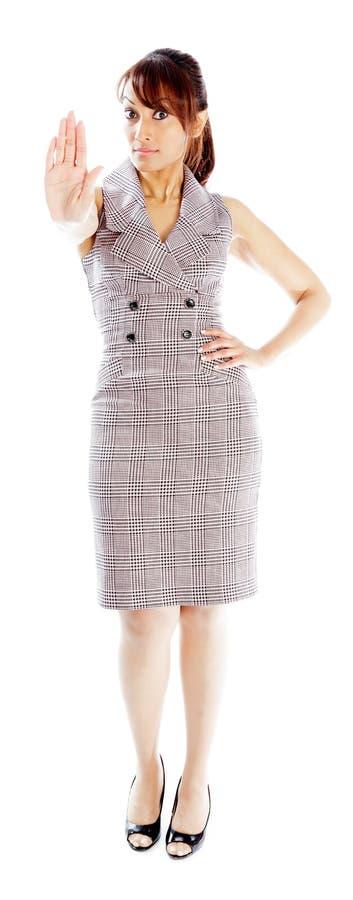 Download Atrakcyjna Indiańska Kobieta Odizolowywająca Na Białym Tle Zdjęcie Stock - Obraz złożonej z cięcie, dorosły: 41952678