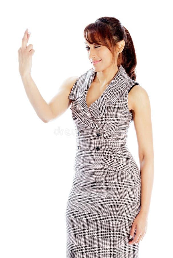 Download Atrakcyjna Indiańska Kobieta Odizolowywająca Na Białym Tle Zdjęcie Stock - Obraz złożonej z ćwiartka, rówieśnik: 41952716