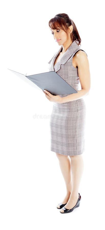 Download Atrakcyjna Indiańska Kobieta Odizolowywająca Na Białym Tle Obraz Stock - Obraz złożonej z zadumany, atrakcyjny: 41952725
