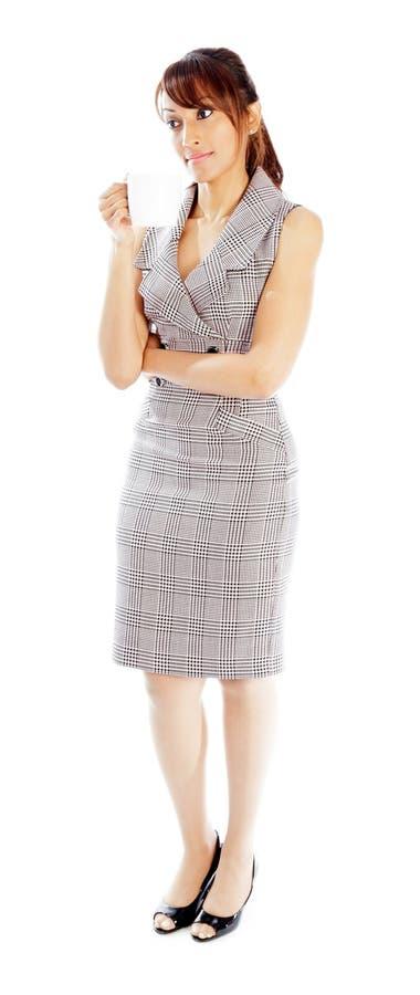 Download Atrakcyjna Indiańska Kobieta Odizolowywająca Na Białym Tle Zdjęcie Stock - Obraz złożonej z piękny, femaleness: 41952766