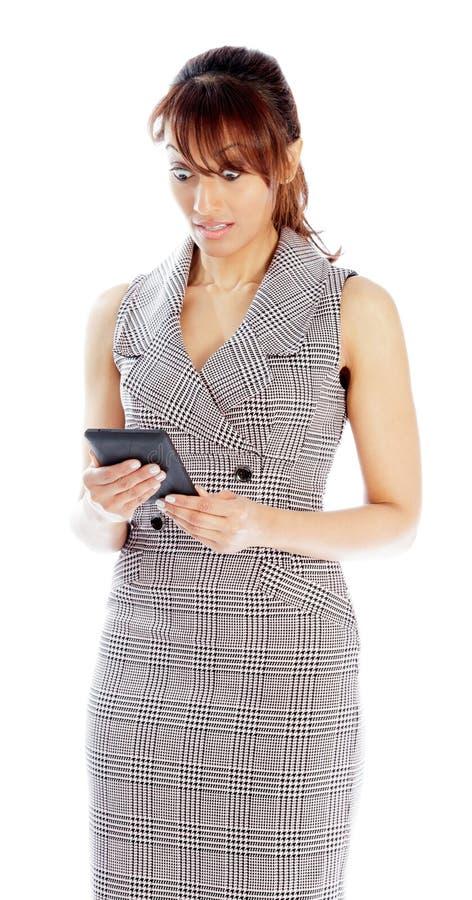 Download Atrakcyjna Indiańska Kobieta Odizolowywająca Na Białym Tle Zdjęcie Stock - Obraz złożonej z przestrzeń, kostium: 41952834