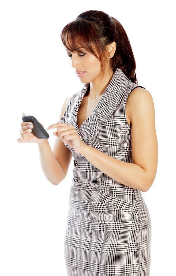 Download Atrakcyjna Indiańska Kobieta Odizolowywająca Na Białym Tle Zdjęcie Stock - Obraz złożonej z osoba, hairball: 41953056