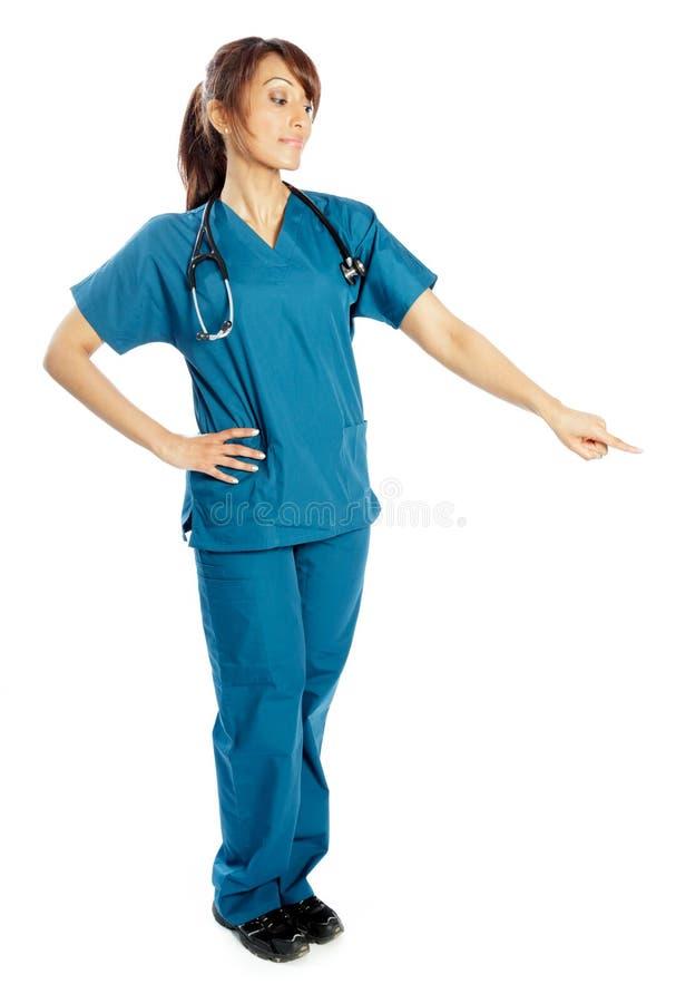 Download Atrakcyjna Indiańska Kobieta Odizolowywająca Na Białym Tle Zdjęcie Stock - Obraz złożonej z joyce, medycyna: 41953192