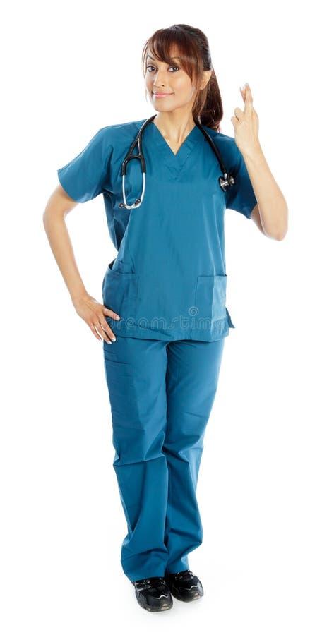 Download Atrakcyjna Indiańska Kobieta Odizolowywająca Na Białym Tle Zdjęcie Stock - Obraz złożonej z długość, practitioner: 41953214