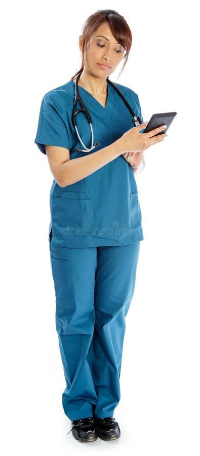 Download Atrakcyjna Indiańska Kobieta Odizolowywająca Na Białym Tle Obraz Stock - Obraz złożonej z złość, błękitny: 41953645
