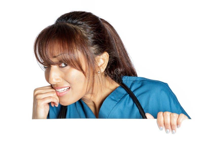 Download Atrakcyjna Indiańska Kobieta Odizolowywająca Na Białym Tle Zdjęcie Stock - Obraz złożonej z złość, dorosły: 41953806