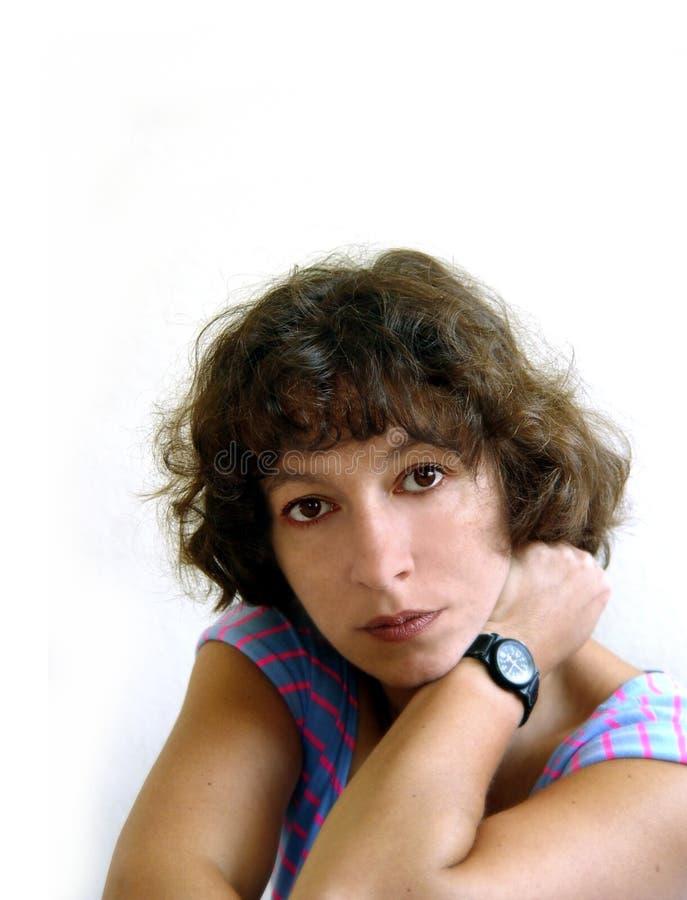 Download Atrakcyjna Kobieta Mogła Cię Zdjęcie Stock - Obraz złożonej z przypadkowy, hairball: 34110