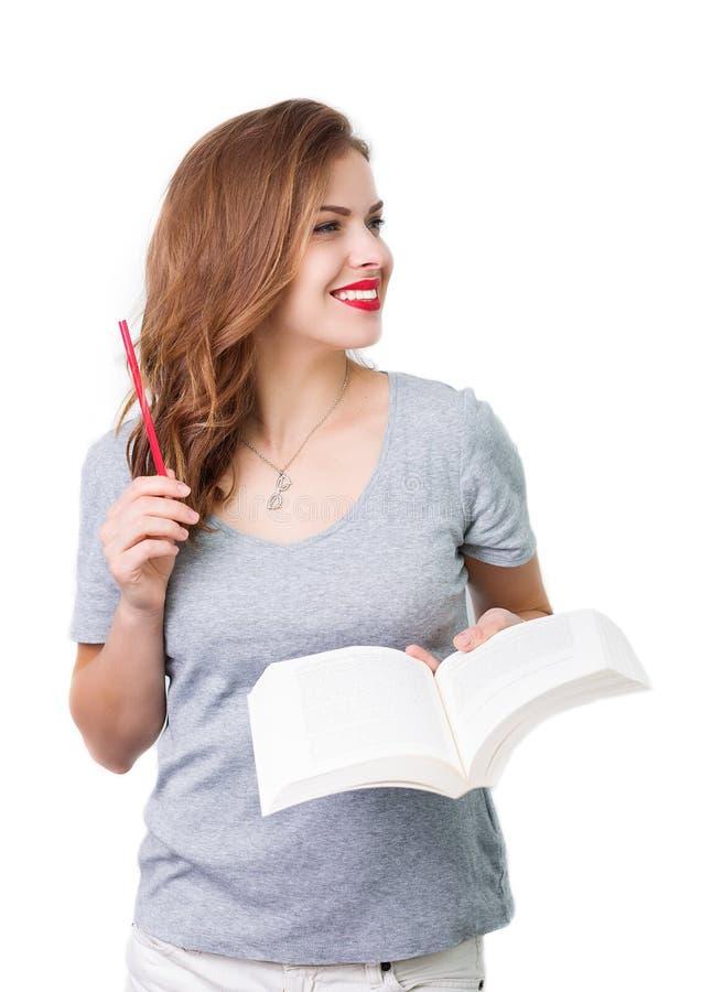 Download Atrakcyjna Kobieta Z Czytelniczymi Szkłami Obraz Stock - Obraz złożonej z moda, seymour: 57671217