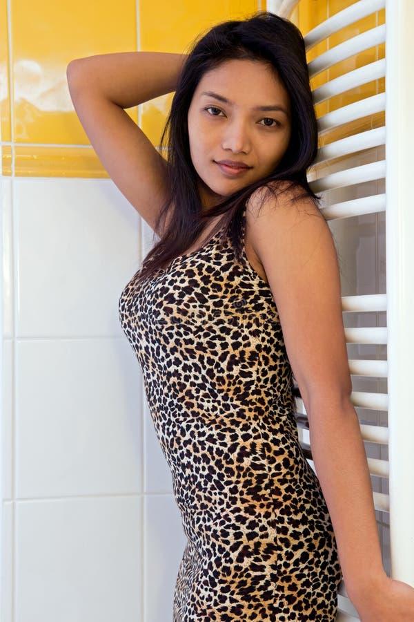 Atrakcyjna kobieta zdjęcia stock